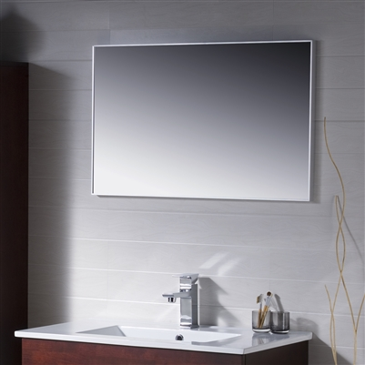 Metal Framed Mirror 24 To 48