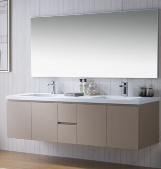 Modern Bathroom Vanities, Cabinets U0026 Faucets | Bathroom Place Miami