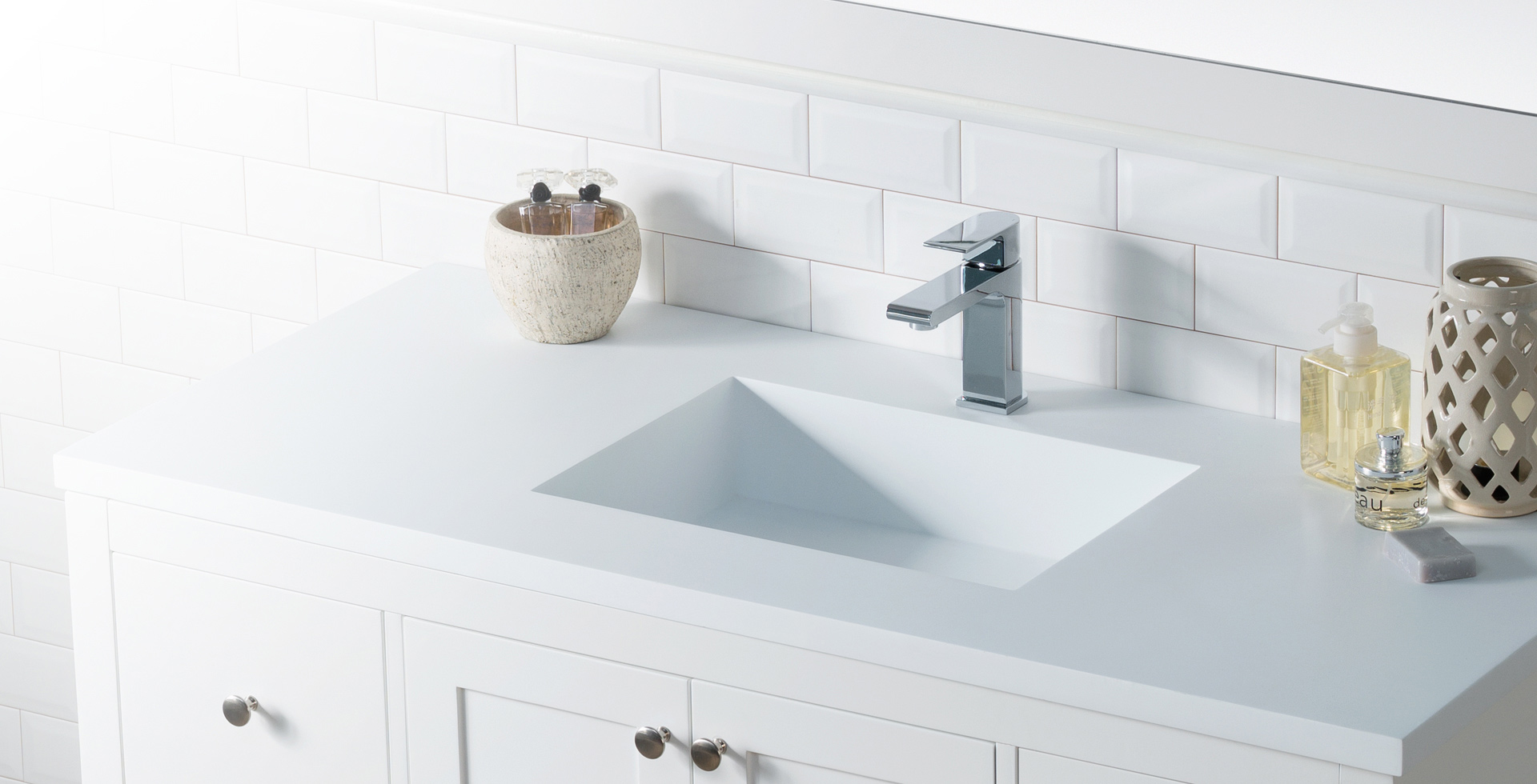Modern Bathroom Vanities, Cabinets & Faucets | Bathroom Place Miami